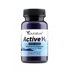 Purative Active H2 All Natural Hydrogen Antioxidant Tablets